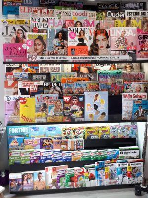 Voorbeeld van verzameling tijdschriften.